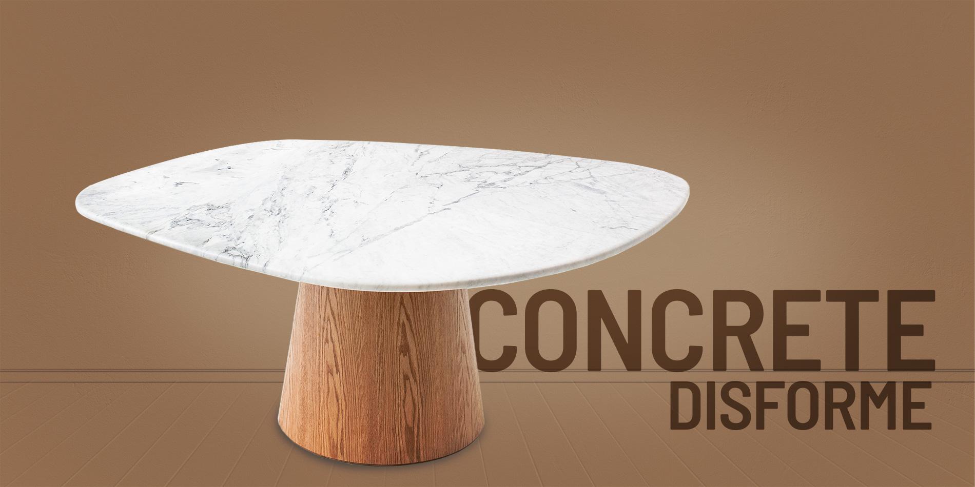 concrete disforme