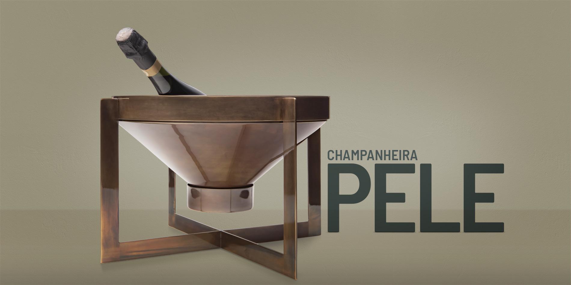 champanheira pele